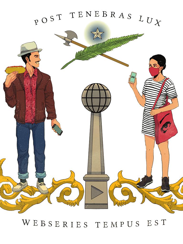ilustración webseries cl_ post tenebras lux